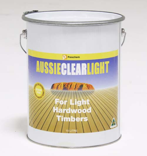 Timber Care Aussie Clear Light 10LITRES