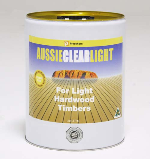 Timber Care Aussie Clear Light 20LITRES