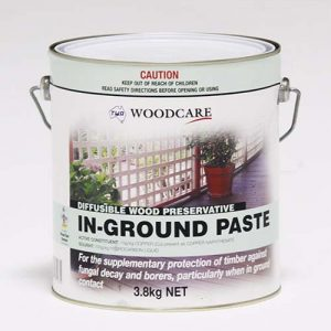 Timber Care Timber preservatives In Ground Paste 3.8Kg