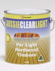 Timber Care Aussie Clear Light 4LITRES
