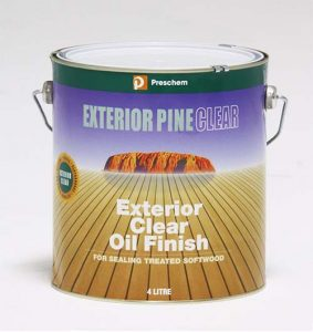 Timber Care Exterior Pine Clear 4LITRES