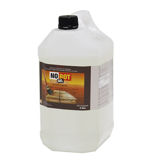 No Rot Gel Wood Preservative